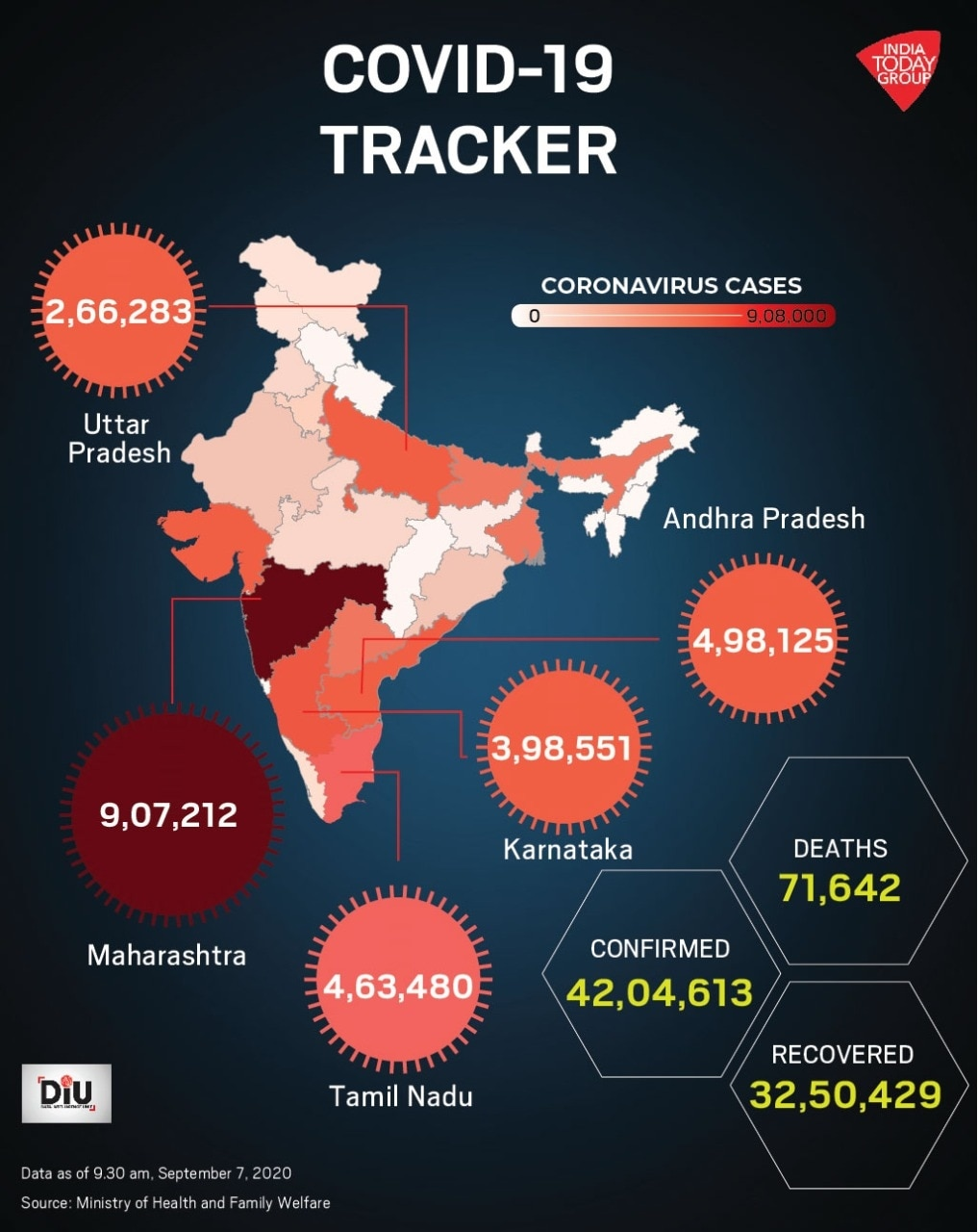 Another Spike Of 90 000 Coronavirus Cases Makes India S Tally 2nd Highest In World After Us India News