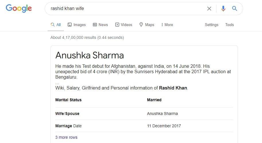 Rashid Khan Wife