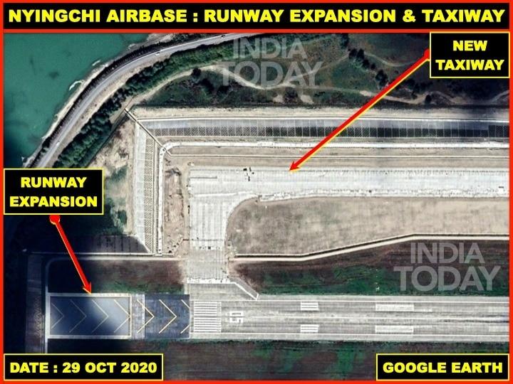 China strengthens dual-use Nyingchi airbase close to India-Tibet border