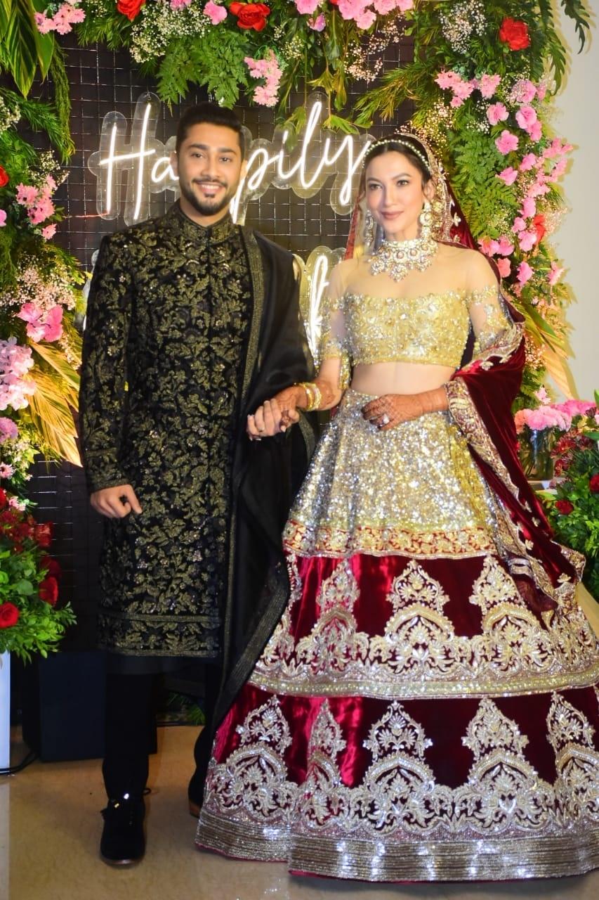 Inside pics of Gauahar Khan-Zaid Darbar's wedding reception in Mumbai - Television News