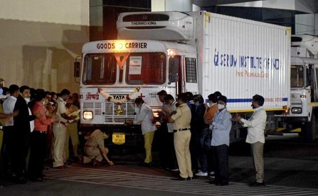 56 lakh doses of Covishield shipped across India for massive Covid  vaccination drive | Highlights - Coronavirus Outbreak News