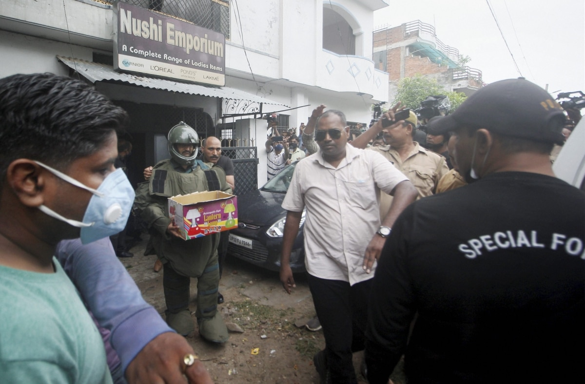 UP on high alert over intel on alleged terror plot, live bomb recovered -  India News