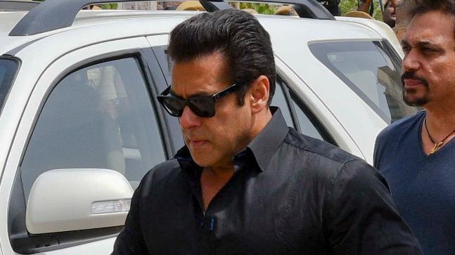 Salman Khan at Jodhpur court where he was convicted