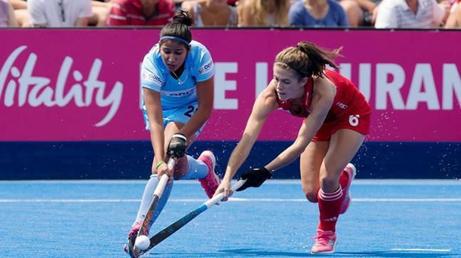 Women's Hockey World Cup 2018, India vs England