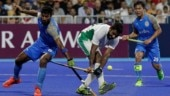 India play Pakistan in the bronze medal men's hockey match at the 2018 Asian Games.