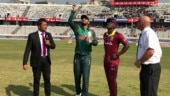 Follow ball-by-ball updates of the first one day international between Bangladesh and West Indies