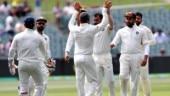 India vs Australia 1st Test live score