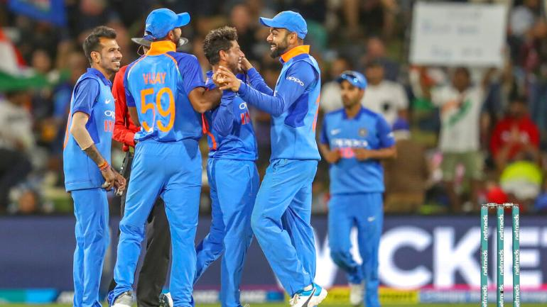 yesterday match india versus new zealand result