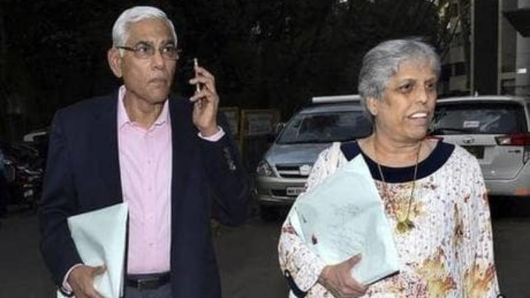 Vinod Rai and Diana Edulji File Photo (PTI)