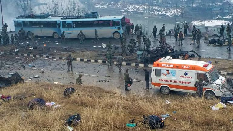 5aea7476d2 Jaish-e-Mohammad (JeM) targetted a CRPF convoy of 50 vehicles in Kashmir s  Pulwama.