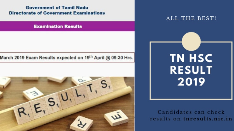 TN HSC Result 2019 declared LIVE Updates: Here's the direct