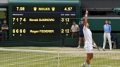 Roger Federer is eyeing his 9th Wimbledon title during the final clash against Novak Djokovic