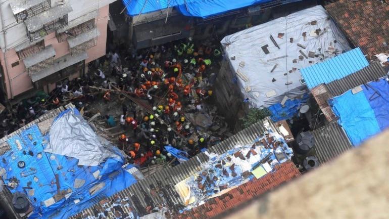 Mumbai building collapse live updates