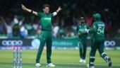 Pakistan (PAK) vs Bangladesh (BAN) Live Score, ICC World Cup 2019.