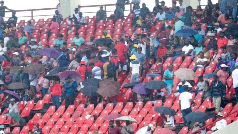 India vs West Indies 1st ODI Live Score: Match abandoned due to rain