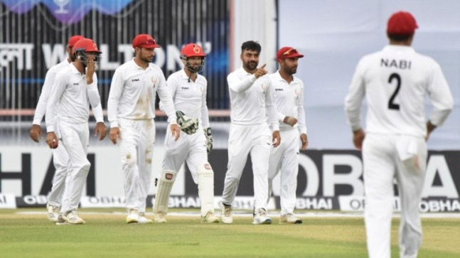 Bangladesh (BAN) vs Afghanistan (AFG) Live Score Only Test Day 5 (Afghanistan Twitter Photo)