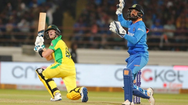 Live Score IND vs AUS 2nd ODI: Steve Smith brought up his 24th ODI half-century off just 47 balls (AP Photo)