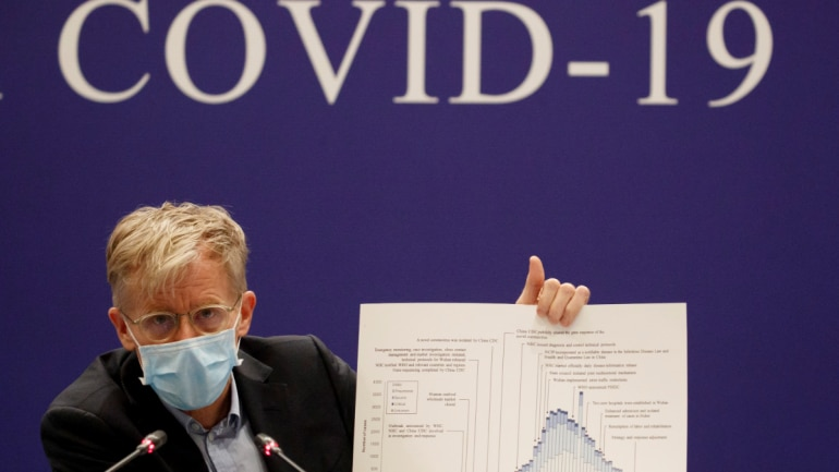 Bruce Aylward of the World Health Organisation (WHO) attends a news conference of the WHO-China Joint Mission on Covid-19 about its investigation of the coronavirus outbreak in Beijing, China, February 24, 2020. (Photo: Reuters)