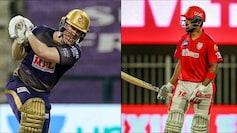 KKR vs KXIP Live Cricket Score, IPL 2020 (Courtesy of BCCI)