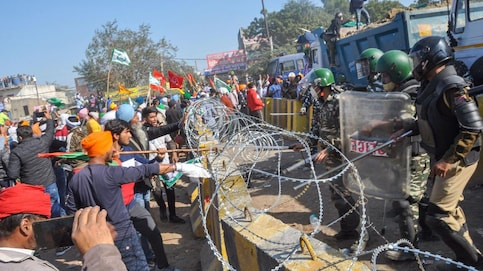 Farmers Protest LIVE: Security increased at Delhi border as farmers gather in large numbers