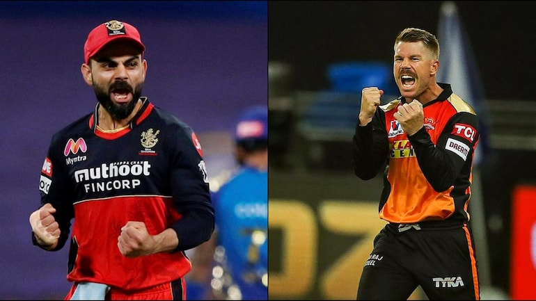 Sunrisers Hyderabad (SRH) vs Royal Challengers Bangalore (RCB) Eliminator Live Score (Courtesy of BCCI)