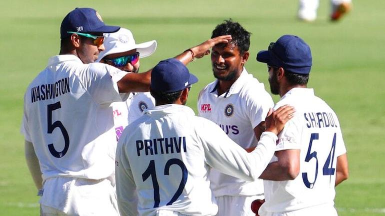 India vs Australia 4th Test Day 1: Labuschagne century, Natarajan highlight  see-saw day at Gabba - India Today