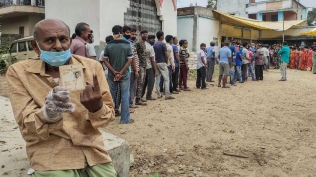Bengal Election Phase 5 Voting LIVE Updates: TMC says ISF cadre hurled crude bombs at Minakhan booth