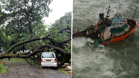 Cyclone Tauktae LIVE Tracking: Extremely heavy rains predicted in Mumbai for next few hours, local train services hit