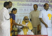 Karuna starts 2009 with good deed