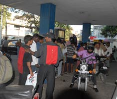 Fuel shortage cripples Chennai