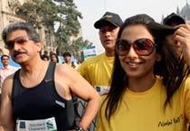 Mumbai Marathon for peace and unity