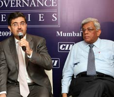 Deepak Parekh at conference on corporate governance