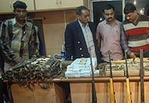 Arms haul in Kolkata