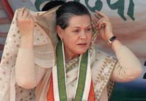 Sonia holds rally in Jaipur