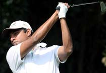 Jadeja in action at PGTI Players Championship