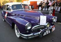 Vintage car rally draws many participants