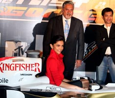 Force India, MTV come together