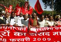 A day of protest in Delhi