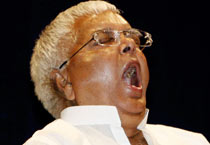 Lalu releases book on Indian Railways