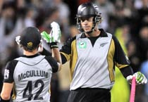 Kiwis thrash India by 7 wickets