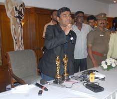 Rahman addresses media