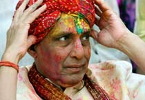 Colours of Holi and political hues