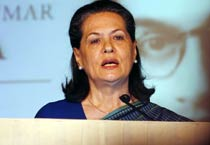 Sonia releases postage stamp on K.K. Birla