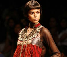 Ritu Kumar's couture collection