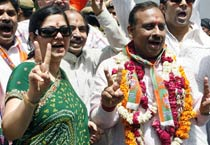 BJP's Vijendra takes the first step, files nomination