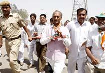 J.P. Agarwal files nomination