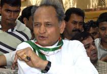 Gehlot campaigns in Rajasthan