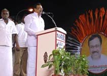 Cong campaigns for DMK in Chennai
