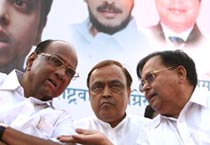 Congress-NCP joint rally in Mumbai