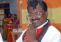 T.K.S. Elangovan campaigns in Chennai